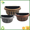 Half Round Planters And Pots For
