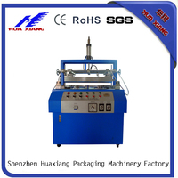 2016 Hot Sale Automatic folding bending machinery for plastic leather film edge folding