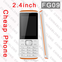 2.4 inch Low Cost Mobile Phone With Gps optional, G-Sensor Function Mobile Phone