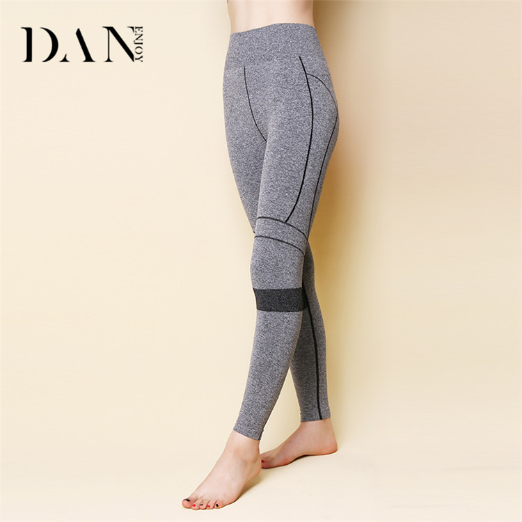 Wholesale Fresh Color Fitness Yoga Wear Outdoor Quick Dry Running Pants Gym High Elastic Slim Yoga Leggings