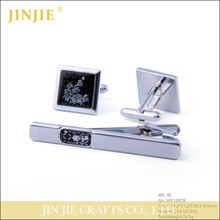 China cheap cufflinks tie clip and cufflink set for men