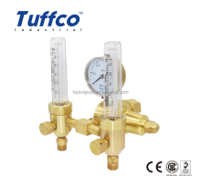 Double Flowmeter Argon pressure regulator