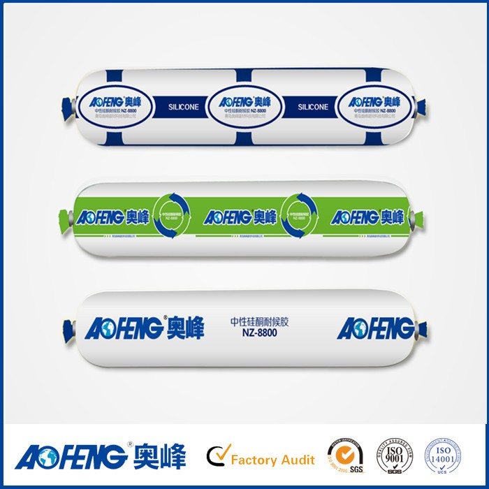 Factory price Acetic Neutral Cure Granite Window Glass Stick Glue Silicone Adhesive Sealant