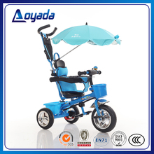 Best selling baby bike tricycle / mini push along baby tricycle / child tricycle with Sunshade