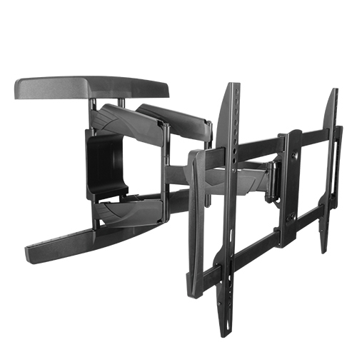Elegant Heavy-duty Full Motion Curved and Flat Screen Retractable TV Wall Mounts