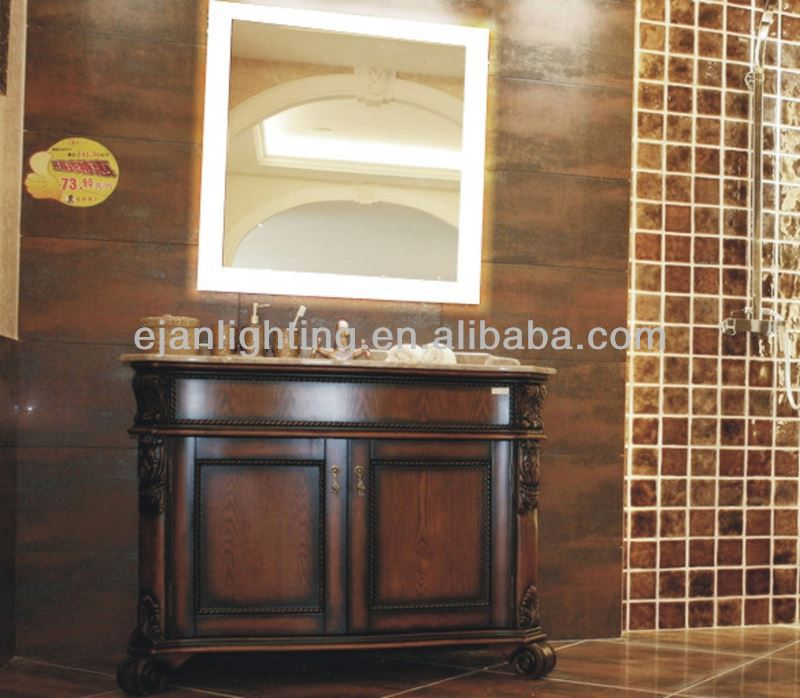 China bathroom accessory IP44 table top cosmetic mirror