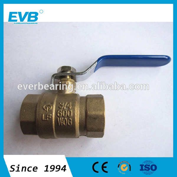New light-duty lead free forged brass female npt ball valves lower price