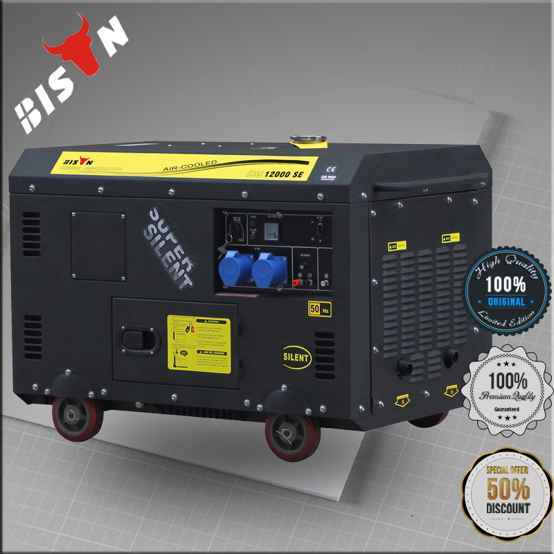 BISON(CHINA) Silent Diesel Generator 13 kva Made In China
