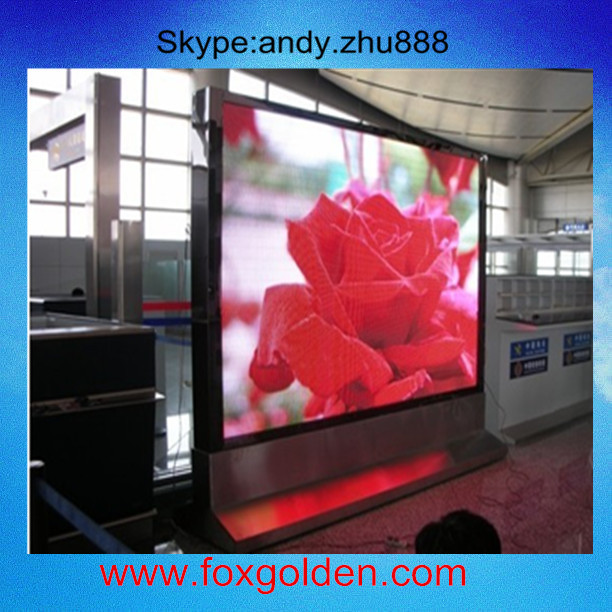 P6 P8 P10 New outdoor advertising led display ,p6 blue firm video and video card led screen