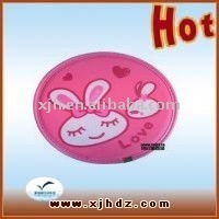 Beautiful pink silicone mouse pad MP120