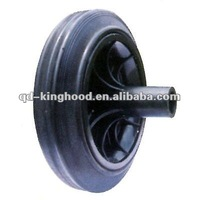 "Solid rubber tyre for Dustbin Wheel 8""x2""TOP QUALITY,LOW PRICE"