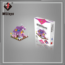 large wange outdoor building blocks