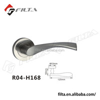 Hot Sale Zinc Door Lever Handle on Rose in Dubai