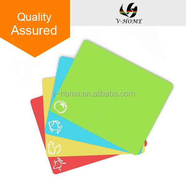 Wholesale durable Non-Slip Flexible Plastic Cutting Boards - 4 Super Grip Cutting Mats