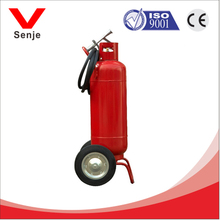 50kg wheeled dry chemical fire extinguisher with general fire extinguisher parts