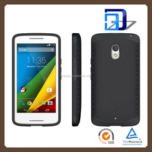 2015 New Model Ultra strong heavy duty rugged case TPU+PC combo case for Motorola Moto X play factory price