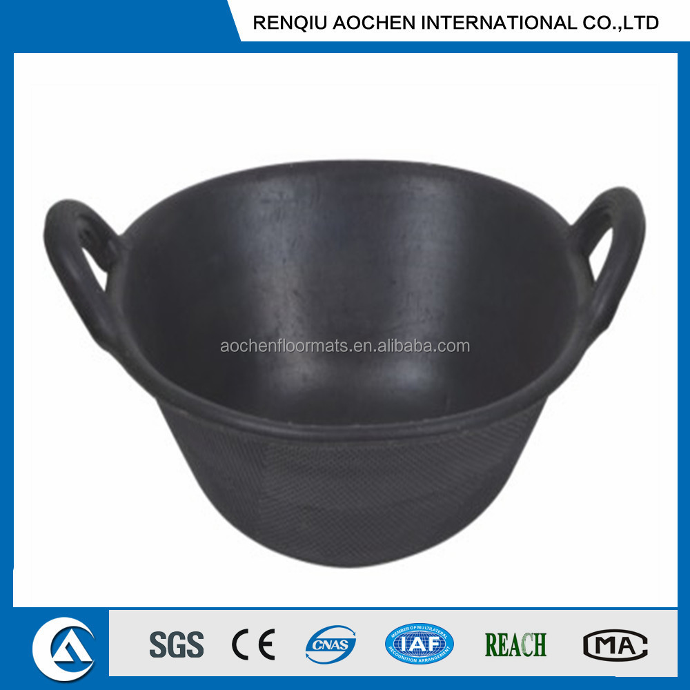 High quality Rubber feeding tub