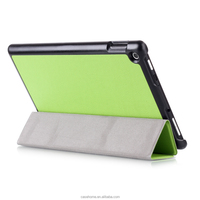 New Fire HD8 2015 Tri-Folded Magnetic Smart Case Cover For Amazon Kindle Fire HD 8 2015 Tablet