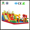 giant forest world inflatable bouncer,inflatable animal bouncers for kids(QX-111A)