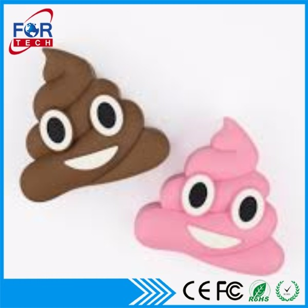 2017/2018 Creative Design Beautiful Cute Emoticon Emoji Power Bank 2600mAh For IPhone 7+