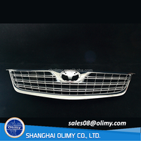 China customized chrome-plated plastic injection auto front grill with car logo
