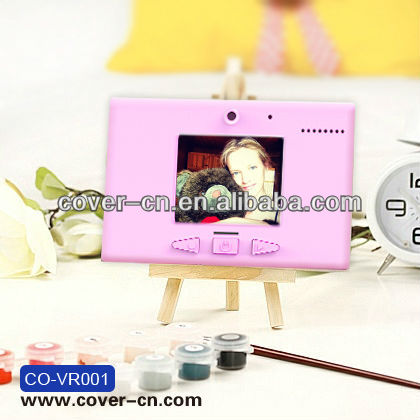 "USB Rechargeable 1.8"" LCD & Voice Memo Message Recorder/Digital Refrigerator Video Memo Message Recorder"