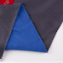 Alibaba express 100% polyester Bonded polar fleece fabric in zhejiang china suppliers