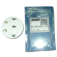 0603 Chip Fixed Resistor SMD Resistor 1% 0 ohm