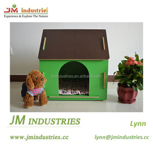 Factory direct price cute MDF dog house for sale