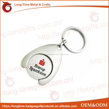Horseshoe Trolley Coin Keyring
