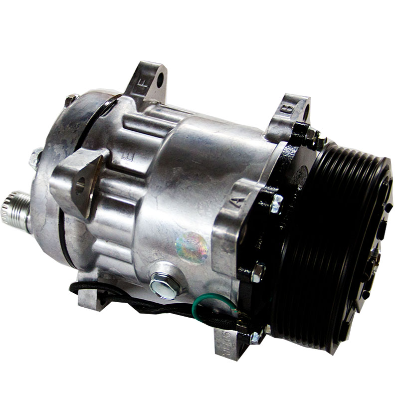 Good quality motorcool 8 grooves 12v/24v electric car ac compressor