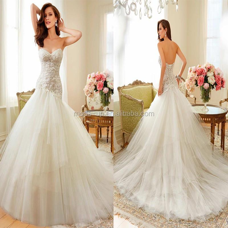 Champagne Colored Mermaid Wedding DressesDresses Wedding 2014