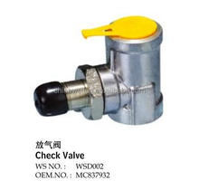 brake booster for check valve MC837932 rapid air relese valve 032195(4111-X) QUICK RELEASE VALVE44760-1040