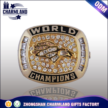 Championship ring zinc alloy championship rings fans souvenirs sport men football ring
