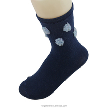 bulk wholesale cozy 100 percent cotton polyester spandex socks for women