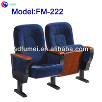 FM-222 New type padded church seat with backrest