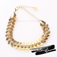 Wholesale Chinese Manufacturer Newest design dubai gold jewelry necklace