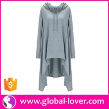 Wholesale Long Sleeve Latest Ladies Simple Long Tops Designs Girls