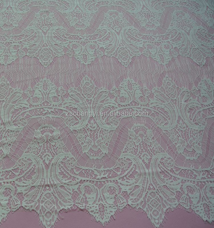 Eyelash lace fabric fashion