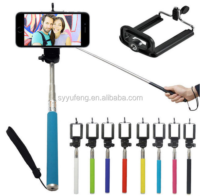Smartphone Selfie Stick Monopod For Mobile Phone With Trade Assurance Supplier Handheld Selfie Stick