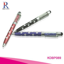 Fashion promotional rhinestone touch screen pen