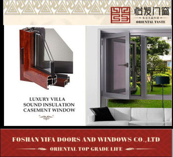 2014 YiFa good quality many colors Thermal break aluminum construction casement window hinges window