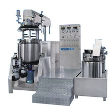 SPX tilt hydraulic lifting homogenizer and emulsifier for eyeliner/liquid foundation making machine