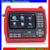 Factory price HD Satlink WS-6951 DVB-S2 digital satellite finder meter ws6951 with 4.3 inch LCD Screen and Backlight.