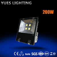 IP 65 strong bright 200W 6500K LED Flood Light with CE/BV/CQC