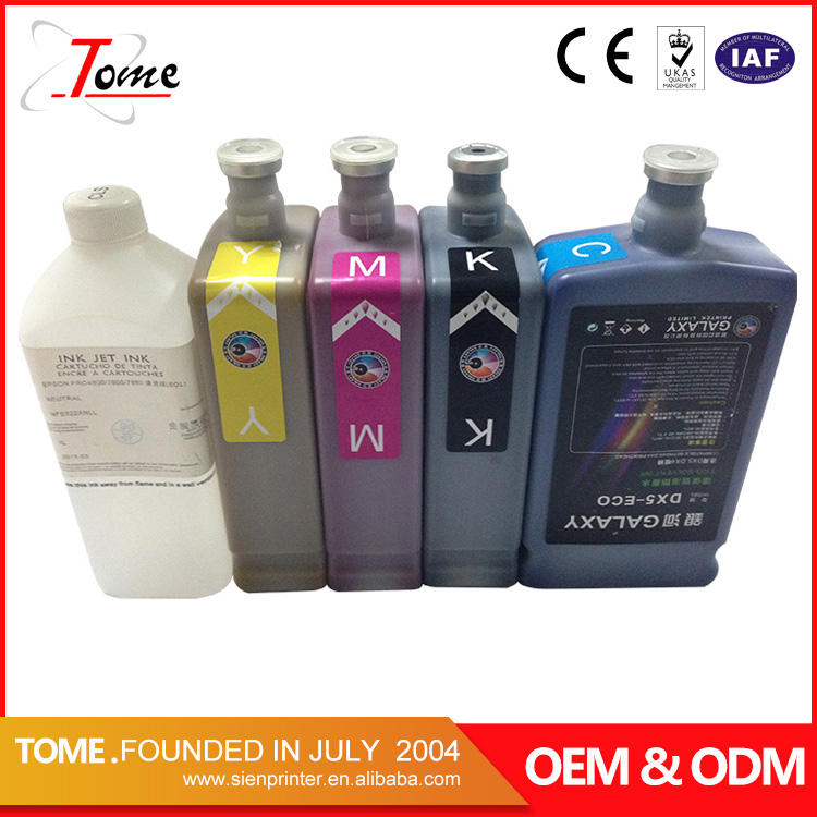 Multi choice oem original eco solvent ink for dx5 printer