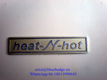 Custom metal plate,personalized silver metal sticker for door/wall,metal embossed logo label for patriotic furniture