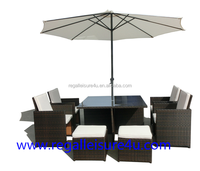 sell rattan garden cube furniture RLF-05214234