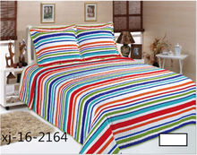 New product comfortable design warm lightweight embroidery baby bedding set quilt