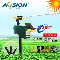 scarecrow mount and motion activated lightnight sprinkler / lawn garden tools/ motion activated sprinkler animal deterrent syst